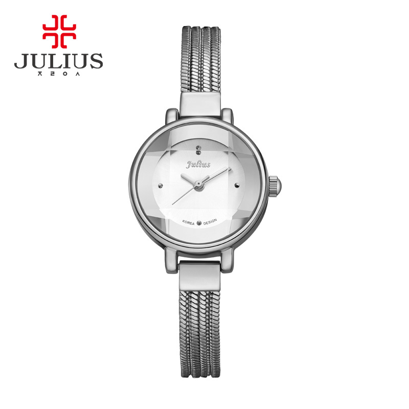 Top Brand Julius Women Watches Ultra Thin Stainless Steel Band Analog Display Quartz watch Luxury Wristwatches Relogio Feminino