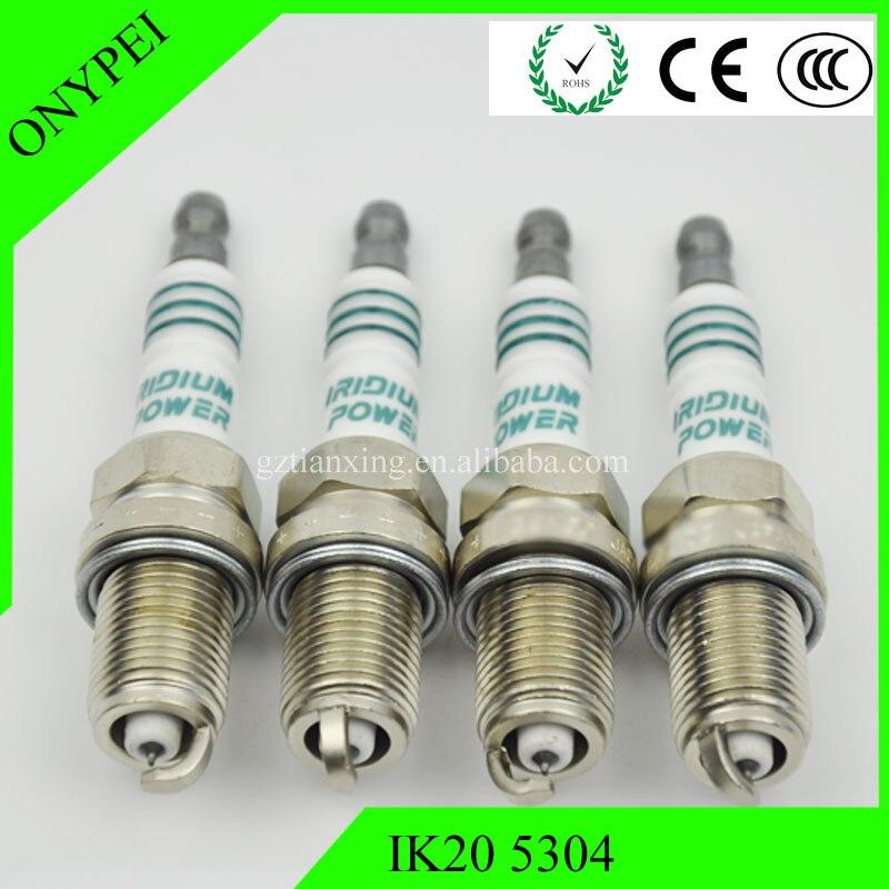 Car Spark Plug Types IK205304 Iridium Power Plugs IK20 5304 For Toyota Racing Tuned Turbo IK20-5304 dle engines dedicated cm 6 iridium spark plugs