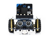 AlphaBot2 robot building kit for micro:bit, with controller BBC micro:bit.