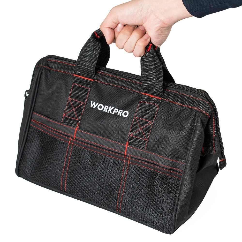 """WORKPRO 13 """"сумка для инструментов многофункциональные сумки мужские сумки для инструментов Оксфорд"""