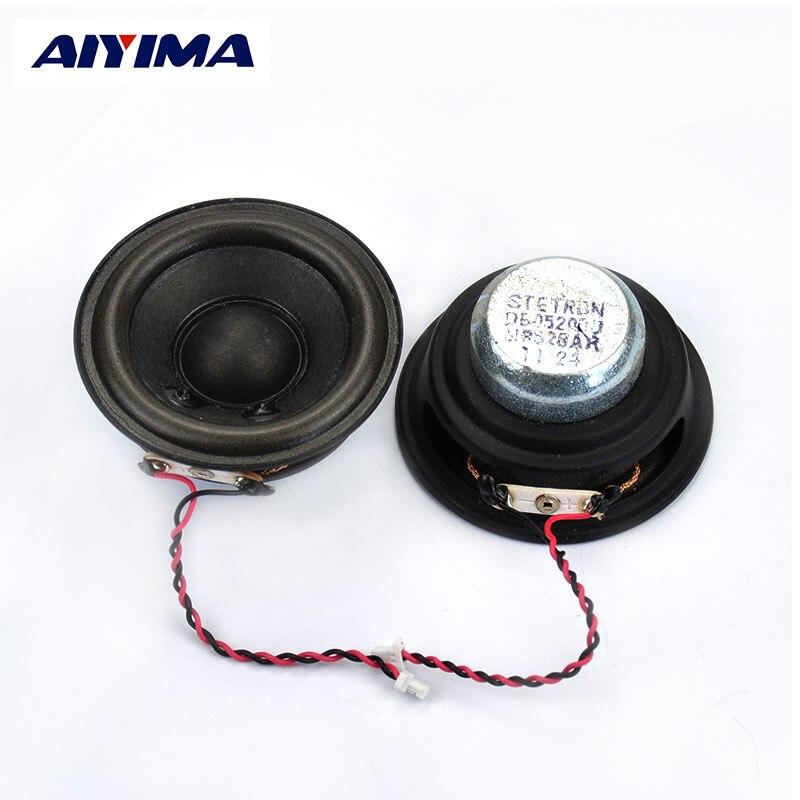 Aiyima 2Pcs Audio Tweeter Speakers 2Inch 8Ohm 5W Neodymium Magnetic Full Frequency HIFI  DIY Speaker Magnetic Super Voice Coil