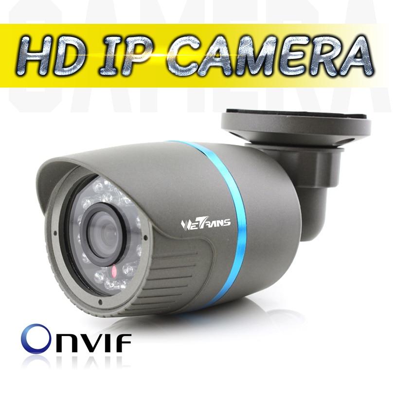 Cámara IP al aire libre CCTV impermeable bala de seguridad Web Cam HD 1080 P 3,6mm de la lente de P2P nube IR Onvif la visión nocturna de la cámara IP POE