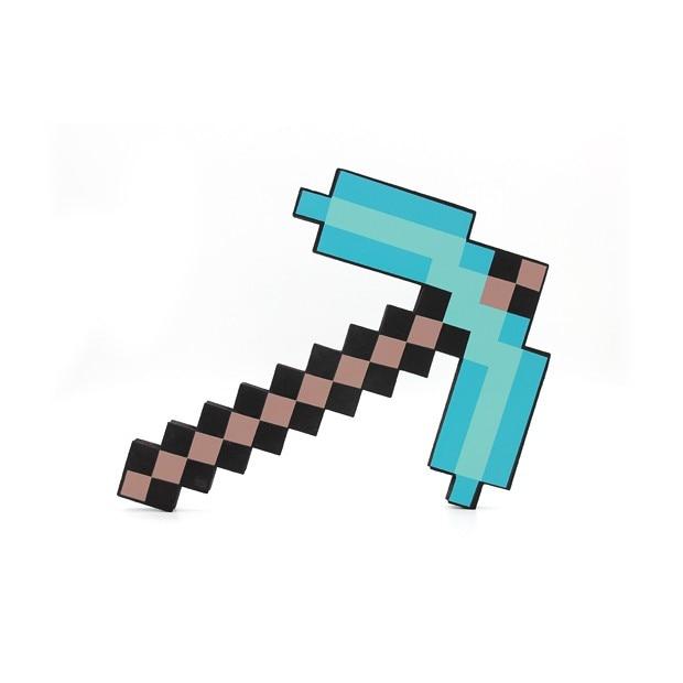 3392b7ea5 2017 Zabawki Minecraft Minecraft Diamentowy Miecz Kilof Foam Gun Axe TNT  EVA Klocki Prezent Zabawki Dla Dzieci Urodziny Prezent Na Boże Narodzenie  prezenty ...
