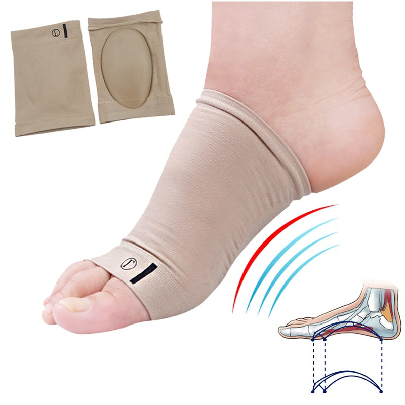 1 Pair Arches Footful Orthotic Arch Support Foot Brace Flat Feet Relieve Pain Comfortable Shoes Orthotic Insoles