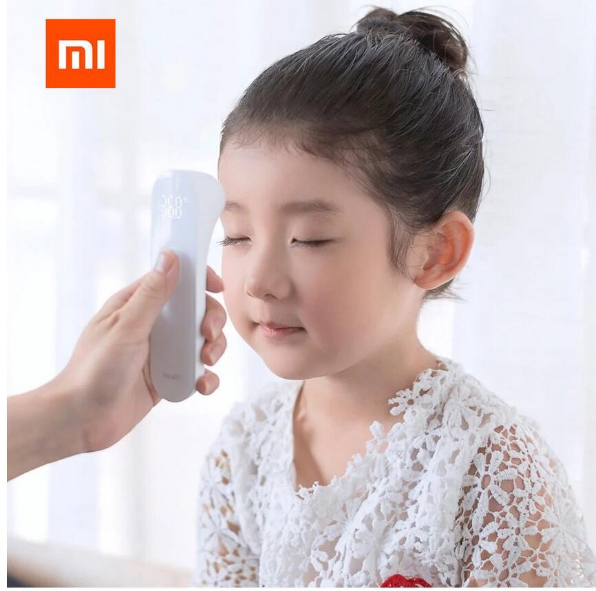 Original Xiaomi Mijia iHealth Thermometer Genaue Digitale Fieber Infrarot Klinische Thermometer Nicht Kontaktieren Messung LED Gezeigt