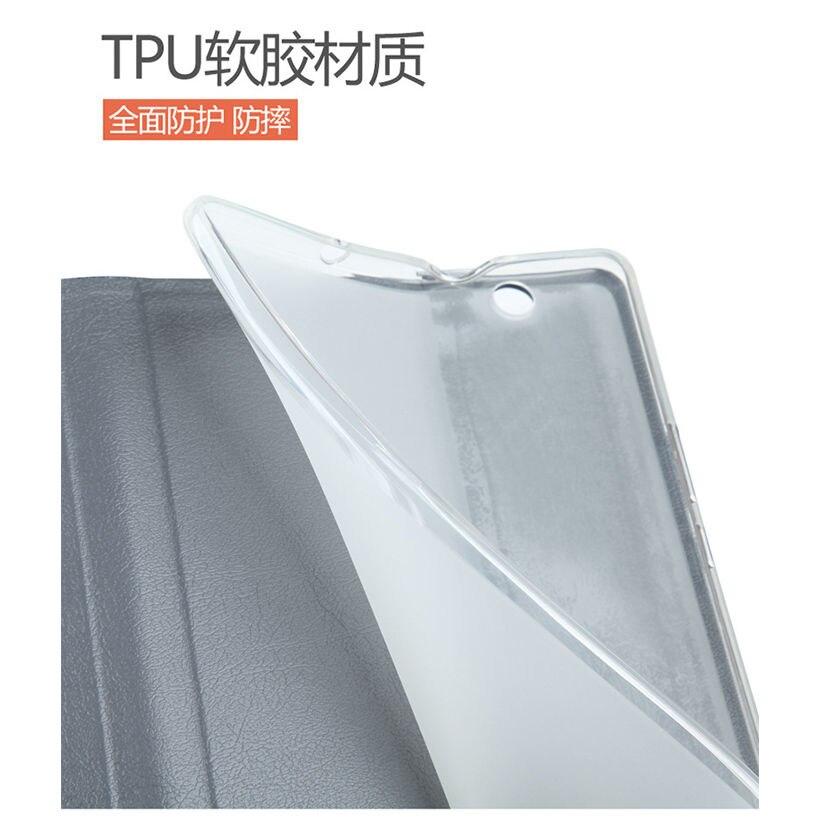 Silikoon + riie PU nahast kaitseümbris Huawei jaoks MediaPad M3 - Tahvelarvutite tarvikud - Foto 5