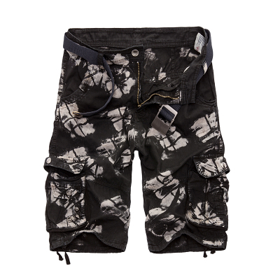 Military Cargo Shorts Men Summer Camouflage Pure Cotton Brand Clothing Comfortable Men Tactical Camo Cargo Shorts 11