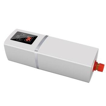 3 secondes chauffe-eau instantané douche électrique chauffe-eau robinet thermostatique contrôlé jusqu'à 55 degrés Celsius