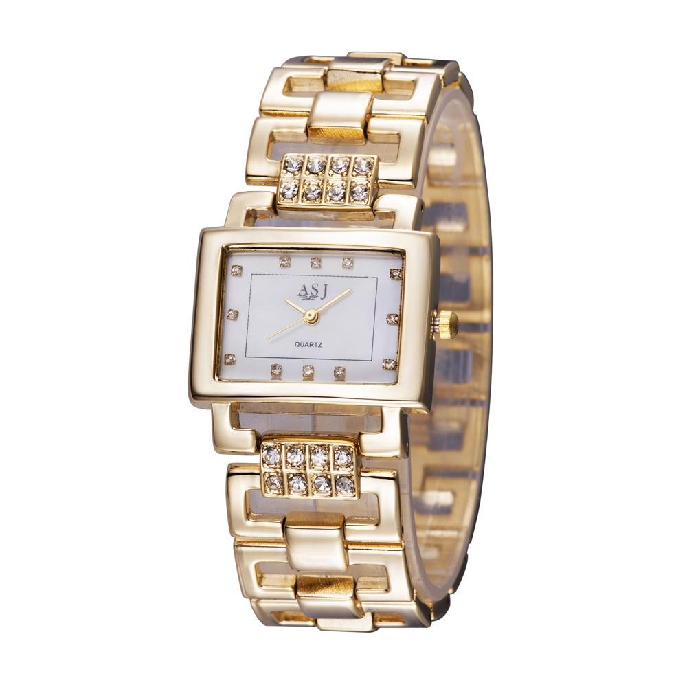 2015 New Women S Diamond Retangle Dial Elegant Bracelet Wrist Watches High Quality Women Dress Watch
