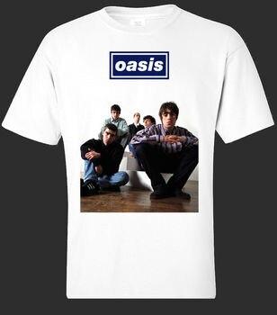 Camiseta de banda de OASIS [todas las tallas] cool Iconic Creation1994 Heyday. Camiseta Gallagher moda camisetas verano recto 100% algodón