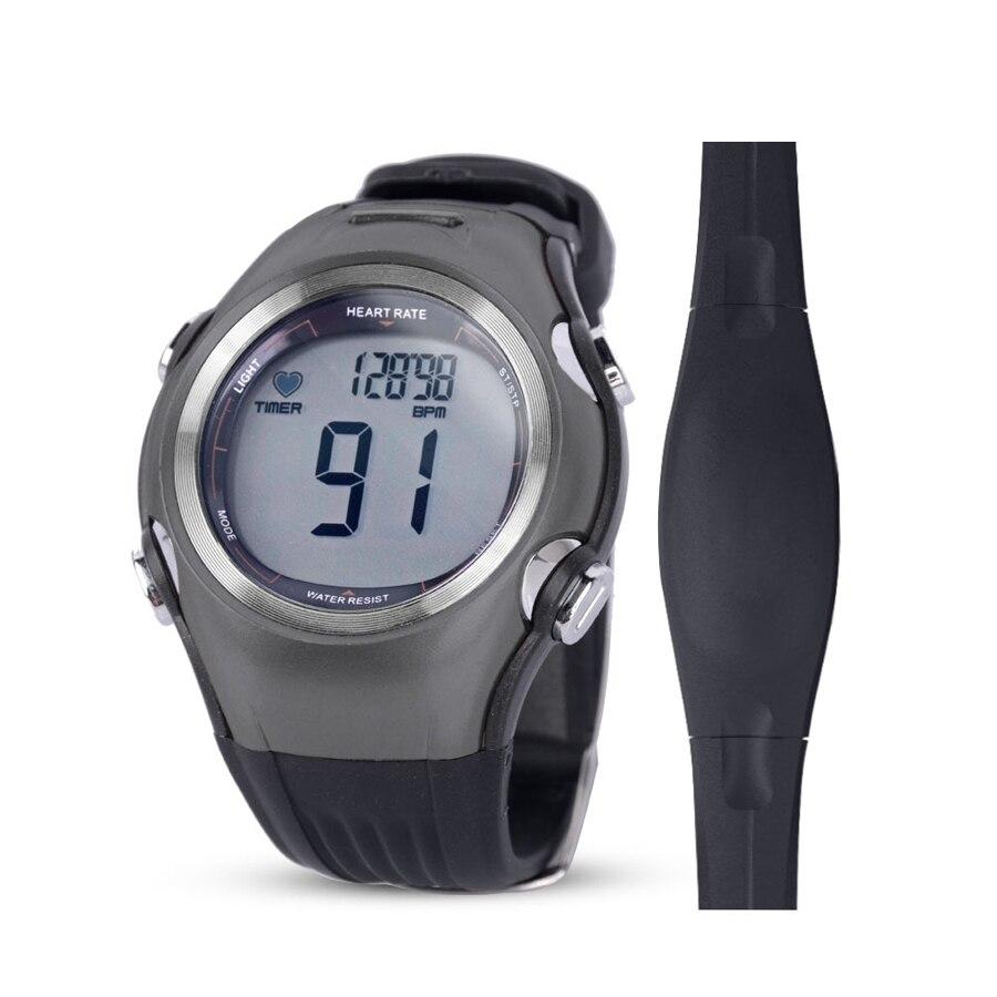 Execução Aptidão Pulso Calorias Heart Rate Monitor Sem Fio Cinta Peitoral Polar Digitais Homens Mulheres Workout Sports Relógios de Pulso