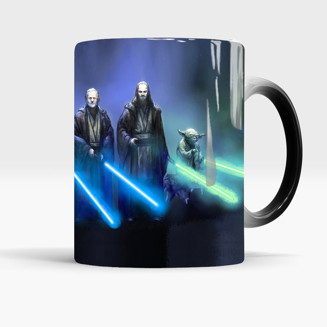 star wars mugs coffee mug friend gifts novelty heat reveal cup heat changing color magic mug tea cups 3