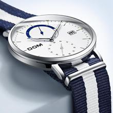 Mens Sport Quartz Waterproof Steel Belt Business Watch (3 colors)