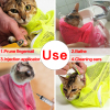 New Mesh Cat Grooming Bathing Bag No Scratching Biting Restraint for Bathing Nail Trimming Injecting Examing 5