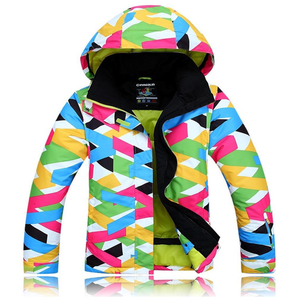 Prix pour Femmes ski veste et manteau de veste de ski imperméable pour femme épaississent thermique snowboard vêtements de ski dame costumes vêtements de plein air