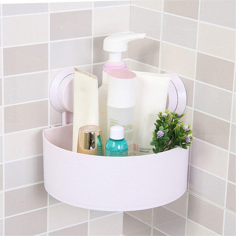 Organizador estante ducha 4 colores plástico ventosa baño cocina ...