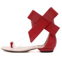 Summer Women Ankle Strap Sandals Bow PU Hook Loop Square heel High Heels Sandals Women Shoes Sexy Pumps ankle strap mid heel bow decorated sandals