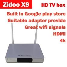 ZIDOO X9 Set Top Box Android 4.4.2 TV BOX 8 GB eMMC 802.11n WIFI pre-installation Super KODI IPTV Bluetooth 4 Karat H.265 USB3.0 Blu-ray(China (Mainland))
