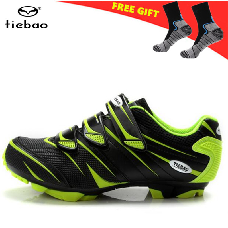 TIEBAO Cycling Shoes sapatilha ciclismo mtb zapatillas deportivas mujer Men Bicycle mountain Bike Shoes Athletic outdoor shoes-in Cycling Shoes from Sports & Entertainment    2