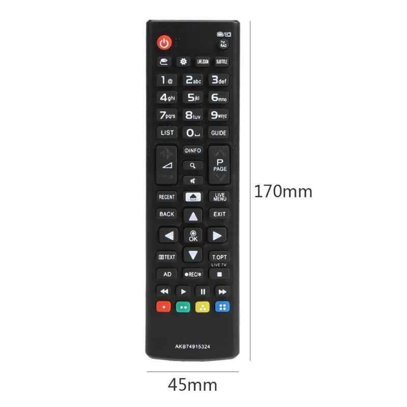 ABS استبدال 433MHz الذكية اللاسلكية التحكم عن بعد التلفزيون استبدال التلفزيون عن بعد ل LG AKB74915324 LED تلفاز LCD المراقب المالي