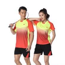 Adsmoney футболка для бадминтона+ шорты, теннисные майки мужские/женские, Теннисный костюм, футболка для настольного тенниса, Спортивная футболка для бадминтона