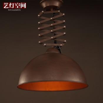Edison Vintage Lampada Da Soffitto Loft Flex Fold Industrial Light Cafe Club Bar Negozio Golden lighting Online Store 409246