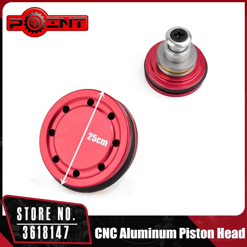 Point Gun Accessories Airsoft Ball Bearing Piston Head 8 Holes for Ver.2/3 AEG Gearbox PO03009