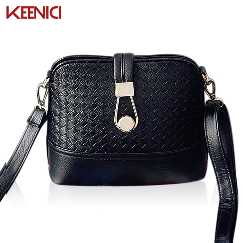 KEENICI Knitting Casual Candy Color Handbags Shell Bags New Clutches Ladies Party Purse Women Crossbody Shoulder
