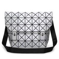 2018 Brand Japan BAO Geometric Women Shoulder Messenger Bags Luxury Diamond Matte Women's Handbags Designer Book bag for school