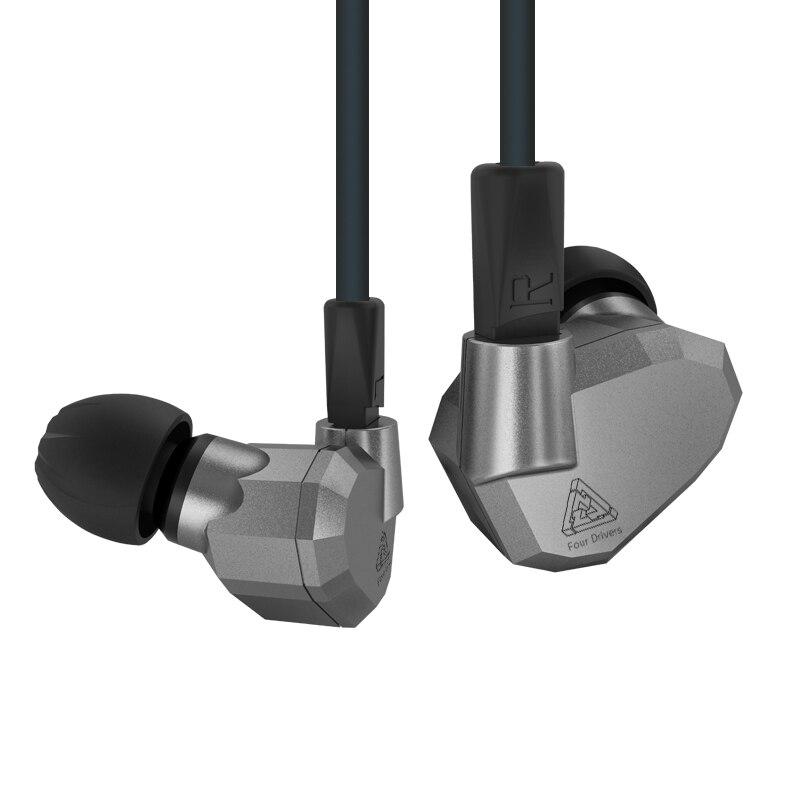 KZ ZS5 moniteur bricolage bouchon d'oreille 3.5mm casque d'entraînement sport en cours d'exécution dans l'oreille écouteurs Base écouteurs HIFI dynamique hybride avec Microphone - 4
