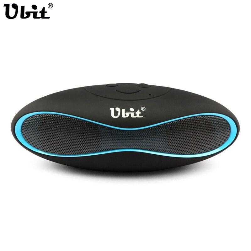 Ubit X6U Mini Portable Speaker Wireless Bluetooth Speakers FM Radio Portable Audio Player Support TF Card