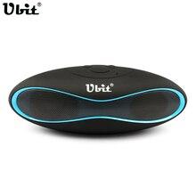 Ubit X6U Mini Altavoz Portátil Inalámbrico de Altavoces Bluetooth Soporte de Tarjeta TF de Radio FM Reproductor de Audio Portátil De Transporte De España