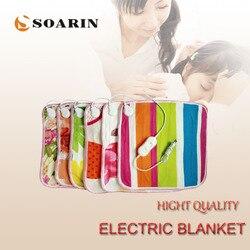 Электрическая грелка SOARIN 45х45, электрическое одеяло, плюшевые коврики с подогревом для ног, 220 В, Manta Termica, электрические грелки для стула