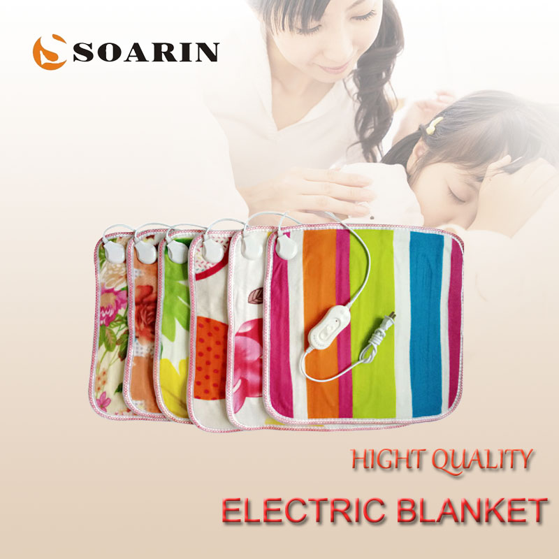 SOARIN Electric Heating Pad 45x45 Electric Blanket Plush Heated Foot Mats 220v Manta Termica Electric Foot Warmers For Chair