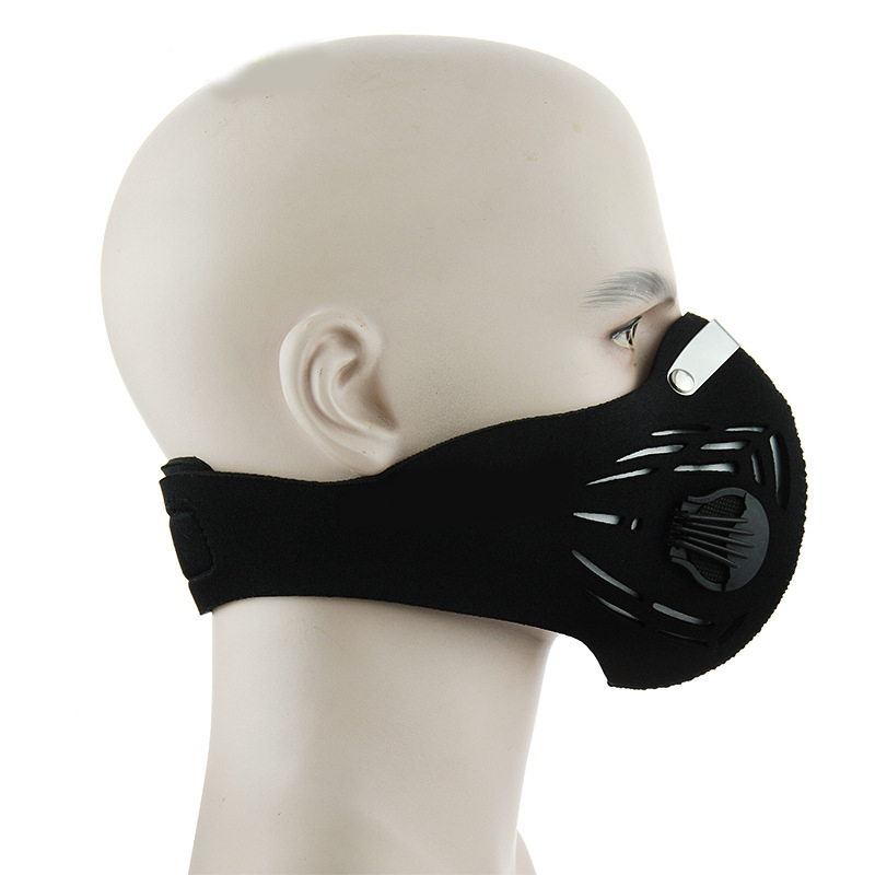 Anti-fog haze PM2.5 dust mask outdoor riding activated carbon filter protective mask