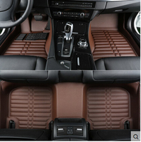 Best quality! Custom special car floor mats for Mercedes Benz GLE 400 2018 2015 waterproof carpets for GLE400 2016,Free shipping
