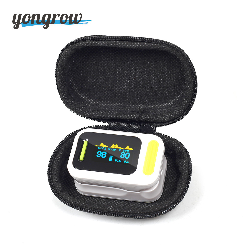 все цены на Yongrow FDA Medical Fingertip Pulse Oximeter SPO2 PR Blood Oxygen Saturation Best Portable Finger SpO2 Family Health Care