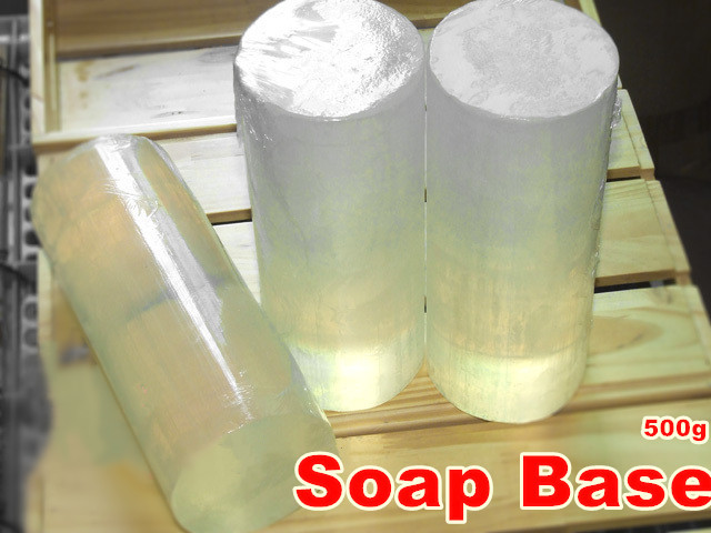 Transparent Soap Formula Glycerin Soap Natural Handmade Soap 500g