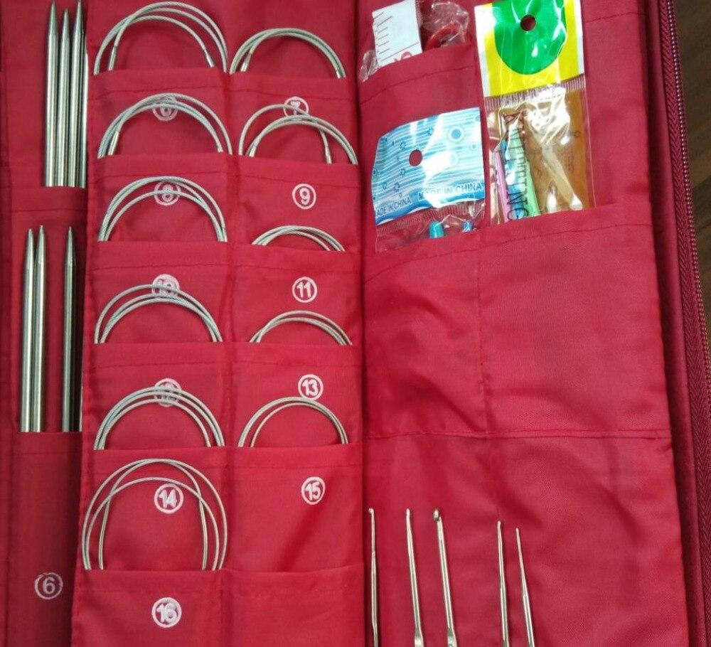 Outils de couture et accessoire bricolage professionnel 36cm 121 pièces aiguille à tricoter à la main ensemble, outils de tissage ensemble en acier 611-in Outils et accessoires de couture from Maison & Animalerie    1
