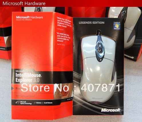 c6838ec1ee6 Original Microsoft IntelliMouse EXPLORER 3.0( LEGENDS EDITION), Brand  New_Free Shipping