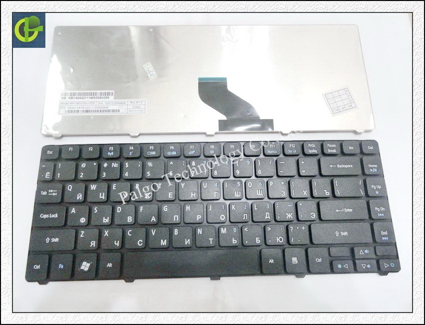 Russian Keyboard for Acer Aspire 5935 5935G 5940 5940G 5942 5942G 3750 3750G 3750Z 3935 4752ZG RU Black keyboard