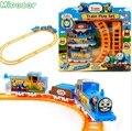Bateria Mipozor Jogo de Trem Definir Thomas e Amigos Motorizada Orbital Trem Trilha Trilho de Trem Elétrico Crianças Brinquedo de Presente Do Bebê