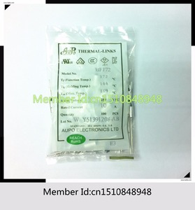 AUPO BF172 Tf172C 10A 250V 172 degrees AUPO Thermal Fuse(China)