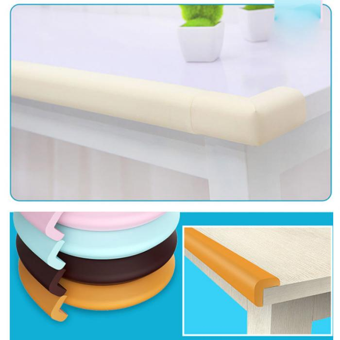 Baby Safety Corner Desk Edge Bumper Protection Cover Protector Table Cushion fm