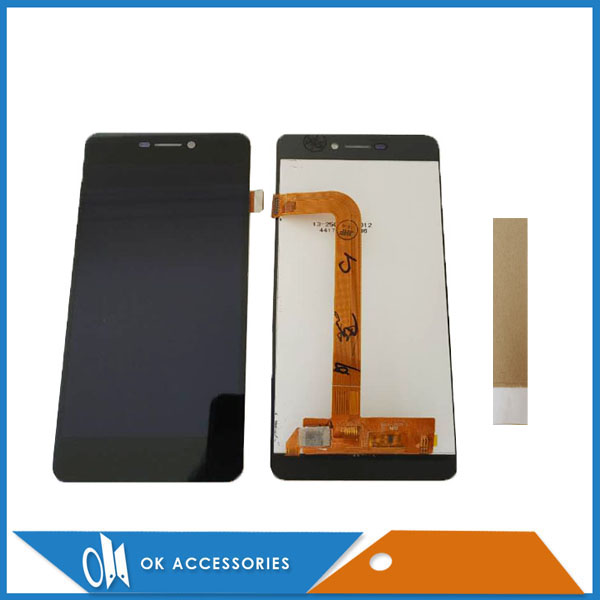 5.0 Pour BQ BQ-5037 BQS-5037 BQS 5037 BQ5037 BQ 5037 Force de Frappe 4g Écran LCD Avec Écran Tactile digitizer Assemblée Avec du Ruban Adhésif