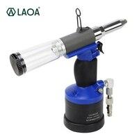 LAOA Высокое качество Пневматические заклепки гайка пистолет воздуха гайковерт установка фара высокая эффективность