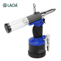 LAOA Высокое качество Пневматические заклепки пистолет воздуха гайка клепальщик инструмент настройки свет высокой производительности