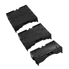 50PCS 1x 2x 3x 4x 18650 Black Plastic Battery Case DIY Series Storage Holder With Bronze Pins for Battery Rechargeable AA 1xusb charger 1x 2x 3x 4x 630mah battery for parrot minidrones mambo swing best price