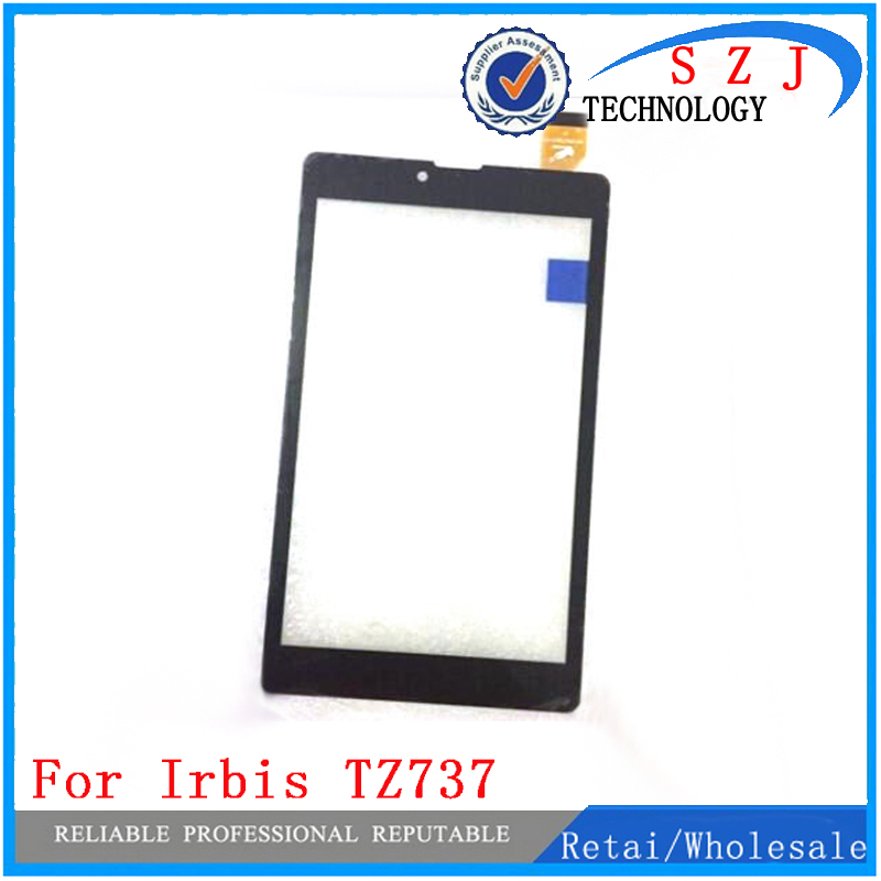 New 7'' inch Touch Screen Irbis TZ737,Irbis TZ737b,Irbis TZ737w Tablet Touch Panel digitizer glass Sensor Free Shipping new for 8 irbis tz86 3g irbis tz85 3g tablet touch screen touch panel digitizer glass sensor replacement free shipping