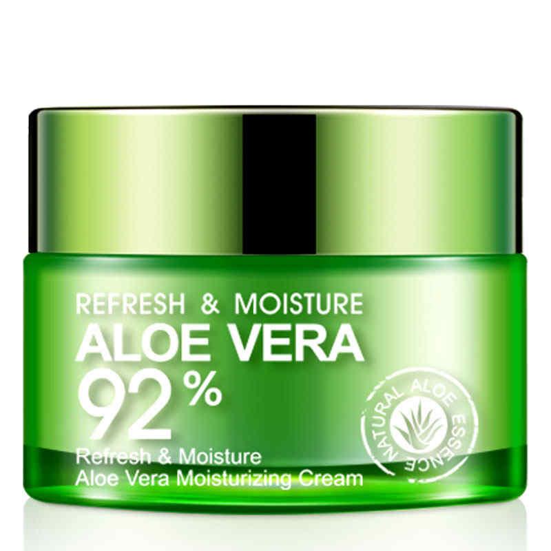 BIOAQUA Aloe Vera Gel  Smooth Moisturizing Whitening Day Cream Anti Wrinkle Anti Aging Face Cream Skin Care